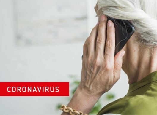 Coronavirus: neue Telefonhotline für 65+