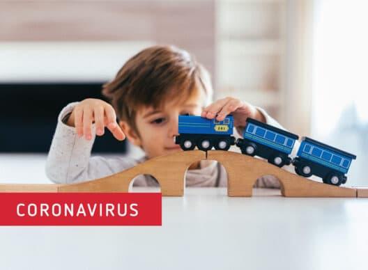 Coronavirus: Hinweise zu Betreuungsstrukturen