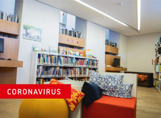 Coronavirus: The library welcomes you on May 18
