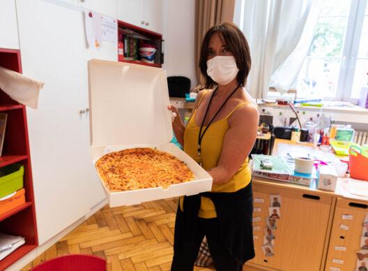 Maisons relais: action pizza